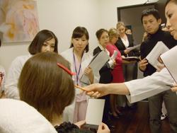 Dr.Tereasa Cattinによるボトックストレーニング